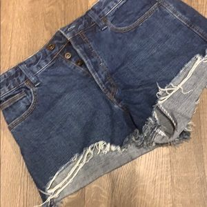 Free People Shorts - Free People Cut Off Short